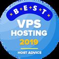 Dodeljuje se kompanijama među prvih 10 u kategoriji najboljeg vps hostinga.