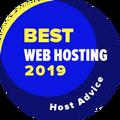 Dodeljuje se kompanijama među prvih 10 u kategoriji najboljeg veb-hostinga.