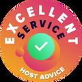 """Odvojili smo vreme da lično i anonimno proverimo svaki pojedinačni korisnički servis kompanije.  """"Znak izvrsnosti"""" pripada kompaniji za hosting koja se pridržava visokih standarda korisničkog servisa, što podrazumeva da je usluga blagovremena, efikasna, pronicljiva i više od svega, korisna."""